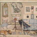 Carl Larsson, Cosy Corner από τη σειρά From a home, Nationalmuseum Stockholm
